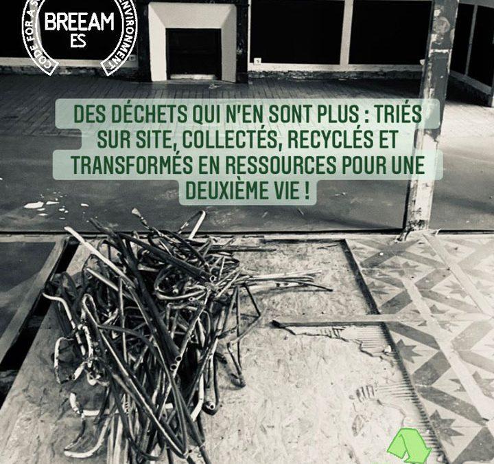 Décembre 2020: Chantier de déconstruction avec certification BREEAM